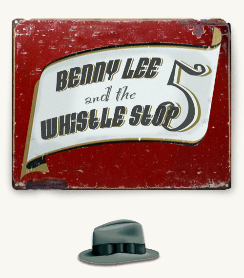 click to enter Benny Lee & The Whistle Stop 5 website